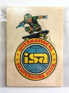 1970's deadstock stickers of