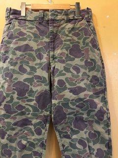 ~1970's camoflage pants by DUXBAK