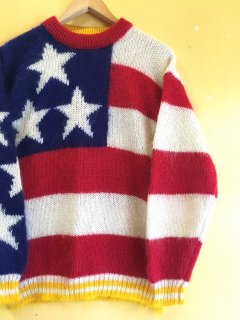 stars & stripes MOHAIR SWEATER by