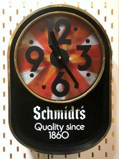 1970's Schmidt's advertising CLOCK