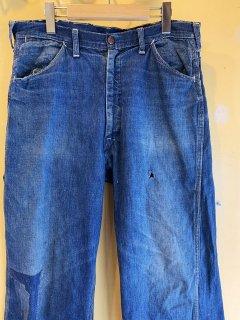 1950's denim painter pants