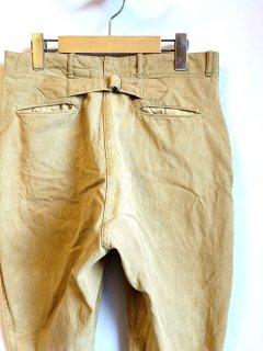 〜1920's cotton jodhpurs with cinch-buckle