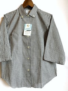 1960's Gingham check B/D shirts by PENNEY'S TOWNCRAFT