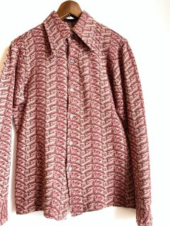 <img class='new_mark_img1' src='https://img.shop-pro.jp/img/new/icons2.gif' style='border:none;display:inline;margin:0px;padding:0px;width:auto;' />1970's Jacquard shirts by FUNKY & GROOVY THREADS