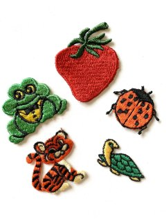 1970's deadstock PATCHes 5-set �
