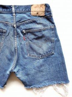 Levi's 501 66 single-stitch CUT-OFF shorts