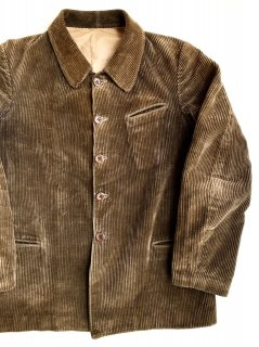 1930〜40's french cords jacket