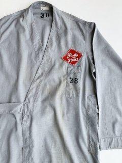 〜1950's butcher coat by