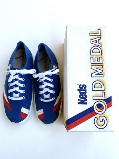 1970's GOLD MEDAL OXFORD by Keds DEADSTOCK w/BOX