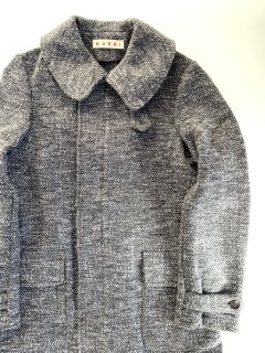 <img class='new_mark_img1' src='https://img.shop-pro.jp/img/new/icons44.gif' style='border:none;display:inline;margin:0px;padding:0px;width:auto;' />Charcoal gray wool coat by