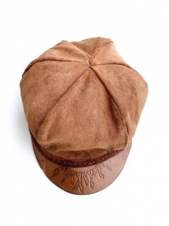 1970's suede cabbie HAT by An Original �