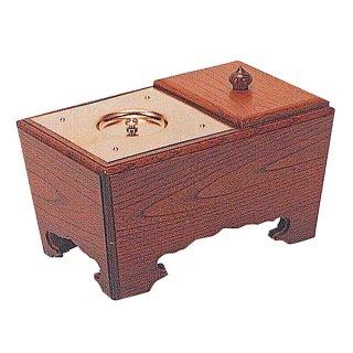 角香炉[欅] 6寸