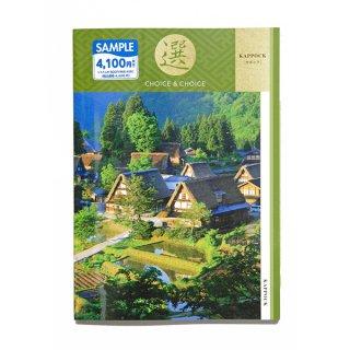カタログギフト 4,300(税抜)円コース