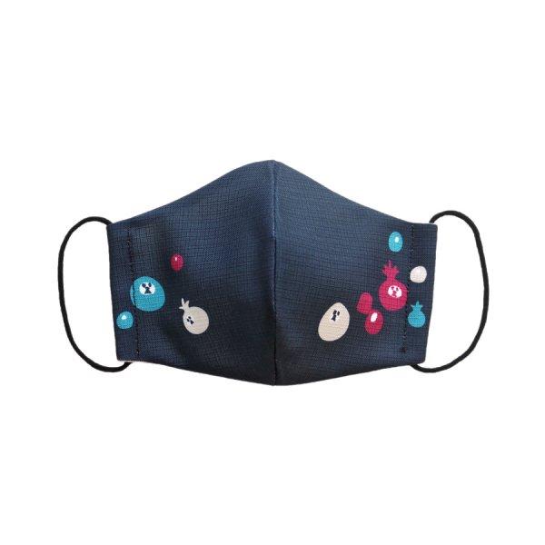 ざくろ犬/ブラックボンボン / お揃いマスク