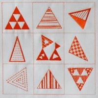 ワンコイン・デザインPack3(三角9種類)