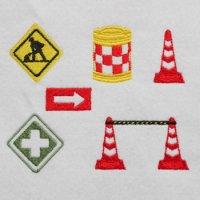 ワンコイン・デザインPack81(工事現場の標識A 6種類)