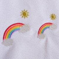 ワンコイン・デザインPack85(希望の虹 2種類)刺繍データ