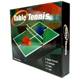 【特価】テーブルテニス Table Tennis【組み立て式ミニ卓球セット】