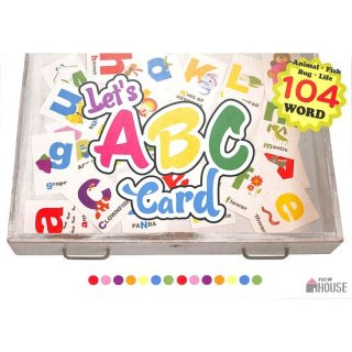 【50%OFF】Let's ABC Card