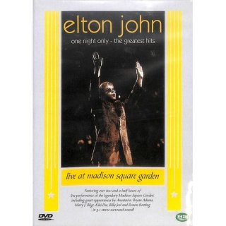 【特価】【DVD】elton john - one night only - the greatest hits エルトン・ジョン