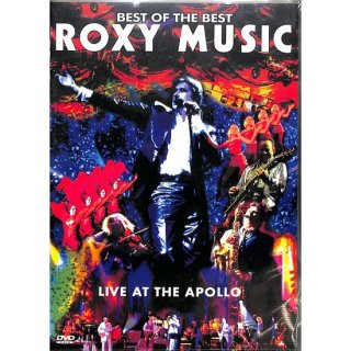 【特価】【DVD】BEST OF THE BEST  ROXY MUSIC  LIVE AT THE APOLLO ロキシー・ミュージック