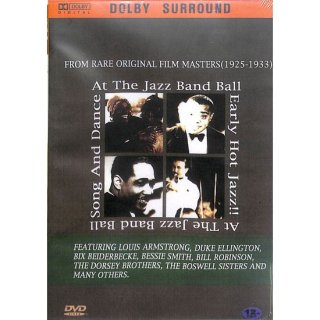 【特価】【DVD】At The Jazz Band Ball  Early Hot Jazz,Song & Dance FROM RARE ORIGINAL FILM(1925-1933)