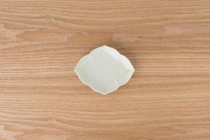 桔梗小皿 | 灰釉
