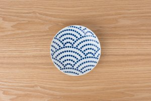 KOMON | 取皿 | 青海波
