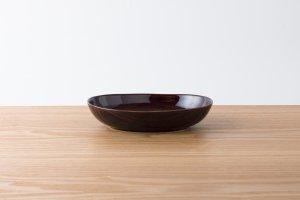 OVAL | 楕円鉢(小) アメ釉