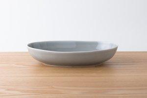 OVAL | 楕円鉢(大) グレー