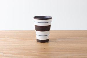 tumbler   フリーカップ 独楽筋(藍)