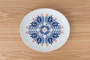 HANA   楕円皿 リーフ