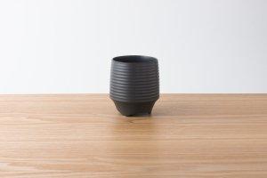 香酒盃 | Lサイズ | 黒釉千段