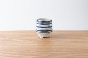 香酒盃 | Lサイズ | 縞(藍)