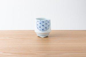 香酒盃   Lサイズ   青い麻の葉