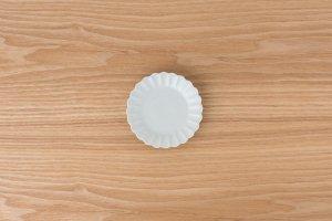 古白磁 | 菊型小皿