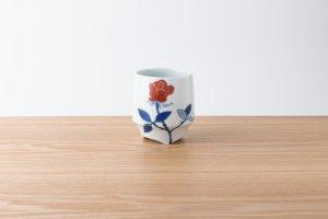 香酒盃 | Lサイズ | 赤薔薇