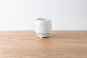 香酒盃 | Lサイズ | 白磁千段