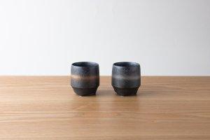 香酒盃 | Sサイズ | 晶金帯・晶銀帯 2ヶセット