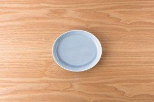 OVAL   【数量限定】楕円皿(小) ブルー