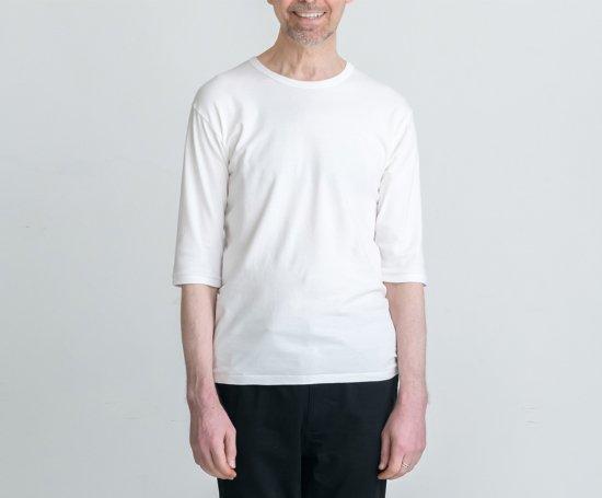 BASIC T CREW-NECK 七分袖