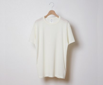 EIJI WOOL T-SHIRTS CREW NECK 半袖 ウールT
