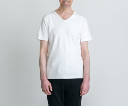 EIJI HEAVY WEIGHT T-SHIRTS WHITE