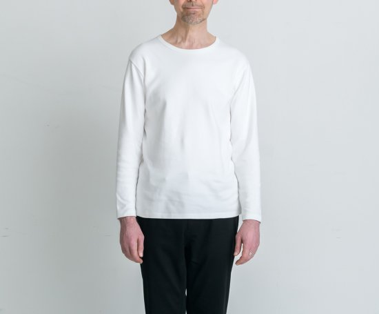 HEAVY WEIGHT CREW-NECK L/S