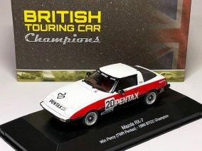 【直輸入品】ATLAS 1/43 マツダRX-7 #20 BTCC1980 チャンピオン ブリティッシュ ツーリングカーコレクション