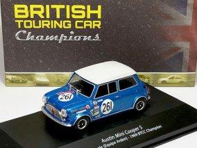 【直輸入品】ATLAS 1/43 オースチン ミニ クーパー S #261 BTCC 1969 ブリティッシュ ツーリングカー コレクション