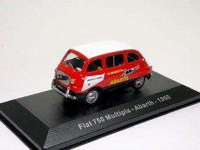【直輸入品】*再入荷*  Altaya 1/43 フィアット 750 ムルティプラ  アバルト 1960