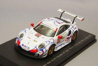 スパーク 1/64 ポルシェ 911 RSR 2018 プチ ルマン クラスウィナー #911 P.ピレ/N.タンディー/F.マコヴィッキィ