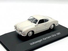 【直輸入品】*再入荷*Altaya 1/43 VW カルマンギア 1962 (ホワイト)