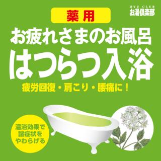 お湯倶楽部 はつらつ入浴 16kg [受注生産品]